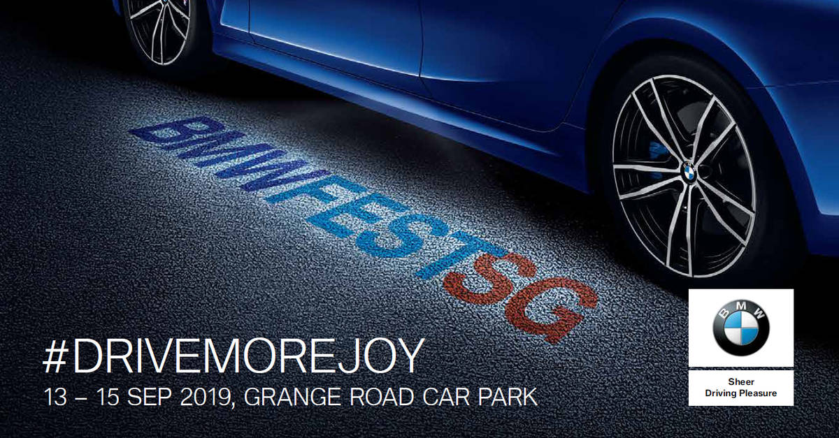 Weekend Event - BMWFestSG - 13-15 September 2019