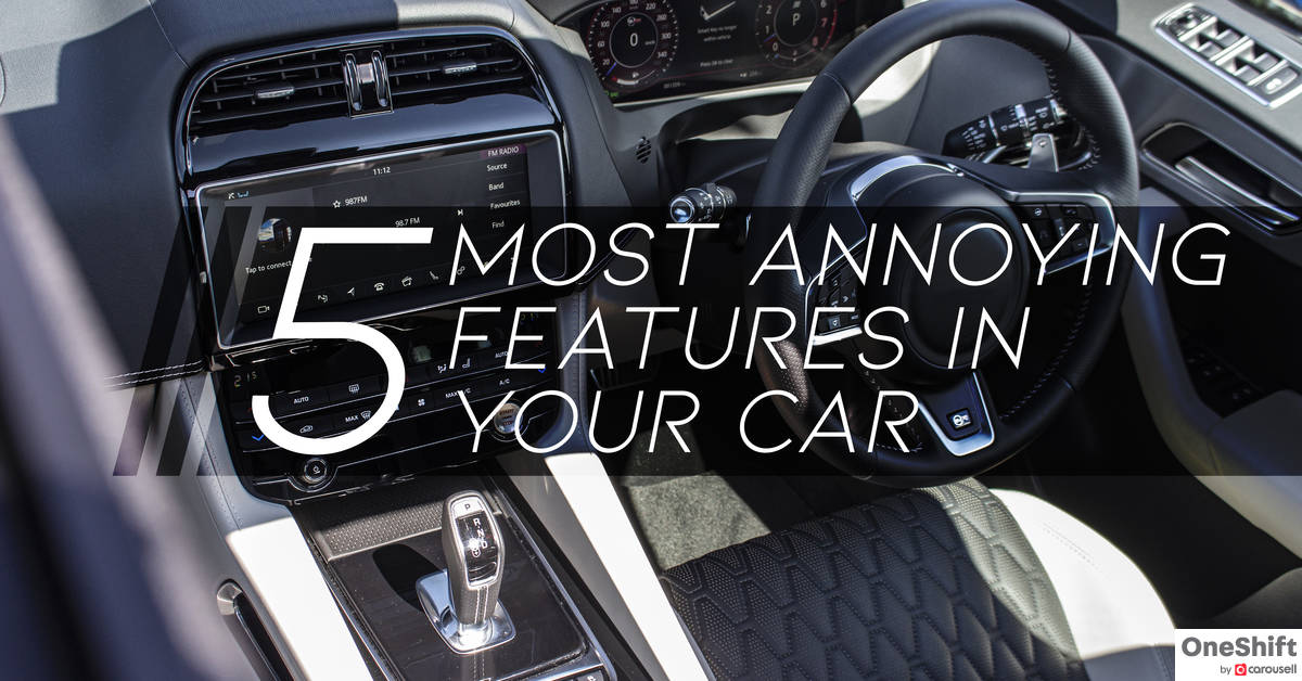 5 Most Annoying Features In Your Car