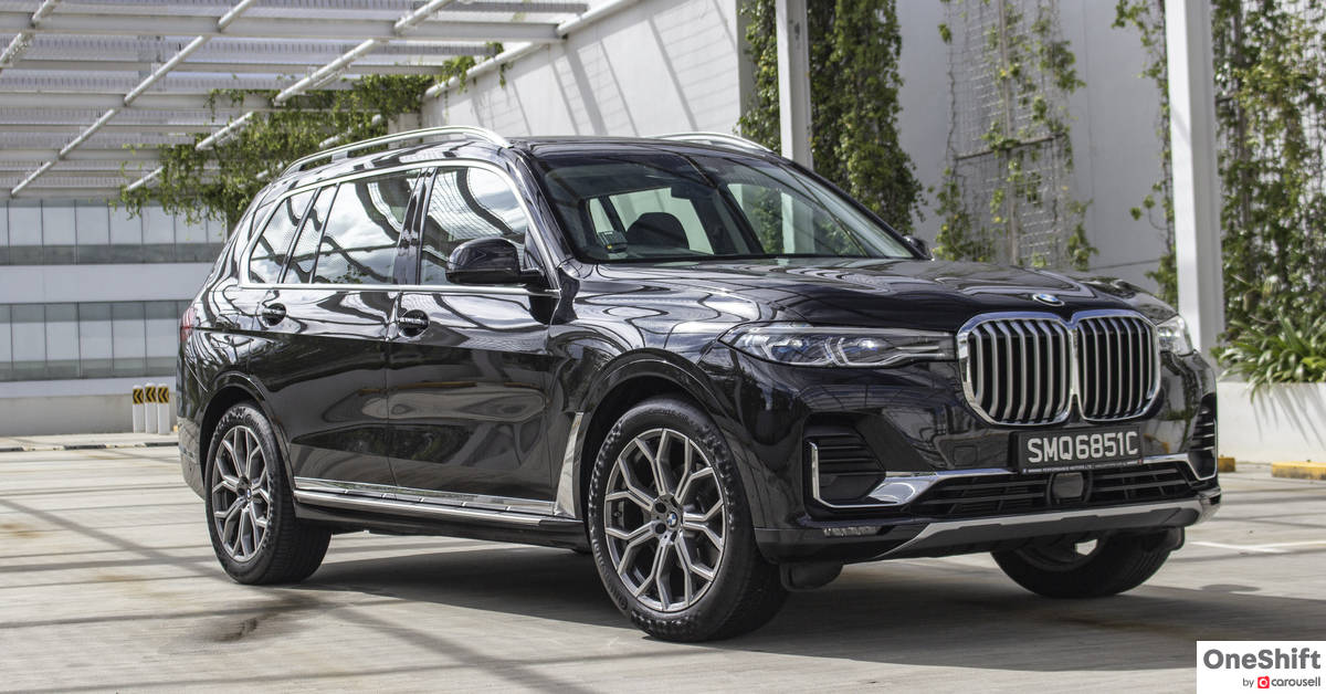 BMW X7 xDrive40i Pure Excellence (7 seater) 2019