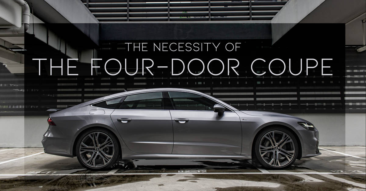 The Necessity of the Four-Door Coupe