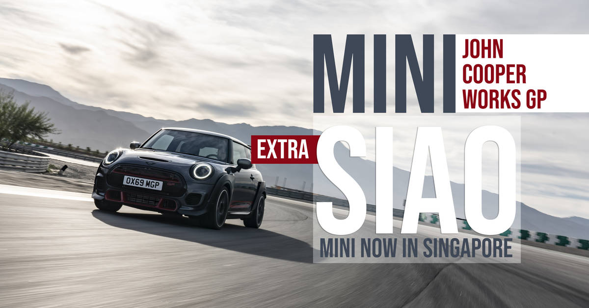 MINI John Cooper Works GP - Extra SIAO MINI Now In ...