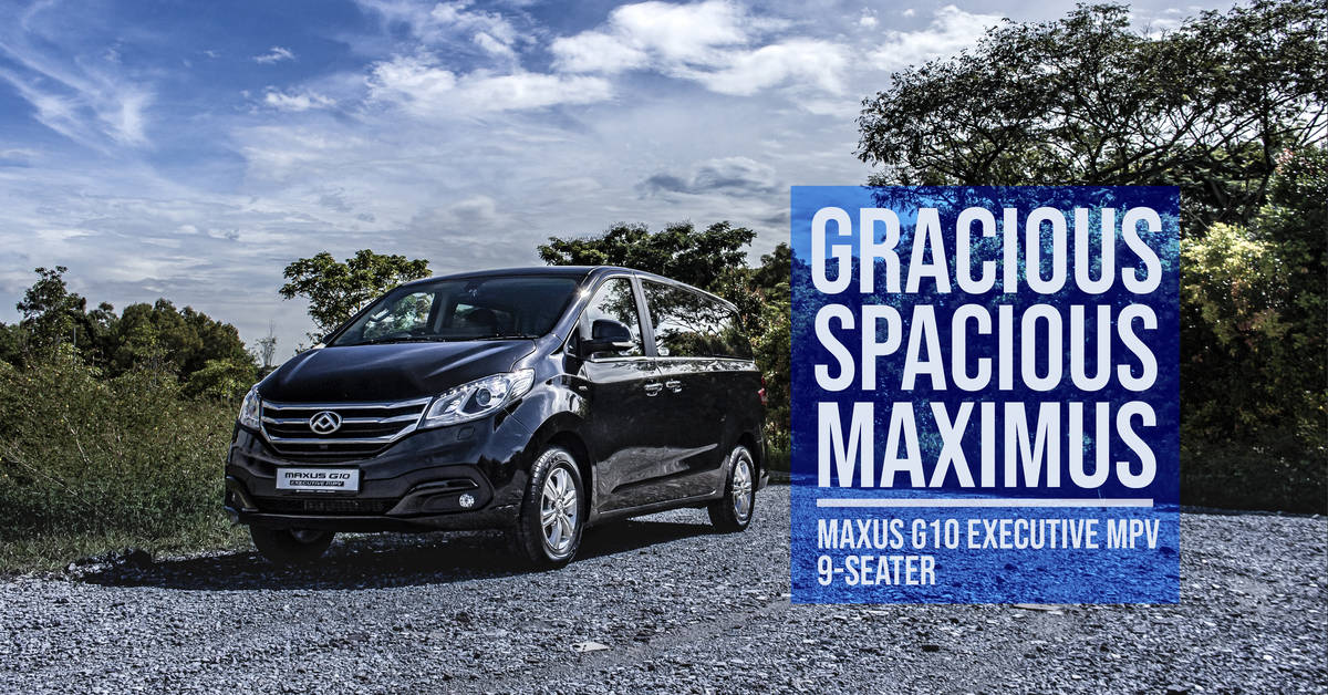 Maxus G10 Executive MPV 9-Seater 2020