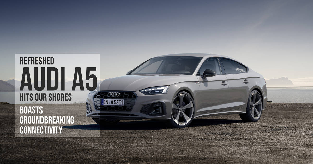 Refreshed Audi A5 Hits Our Shores. Boasts Groundbreaking ...