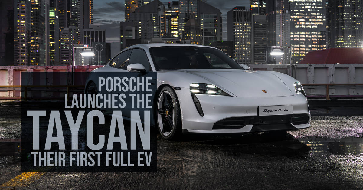Porsche Launches The Taycan, Their First Full EV