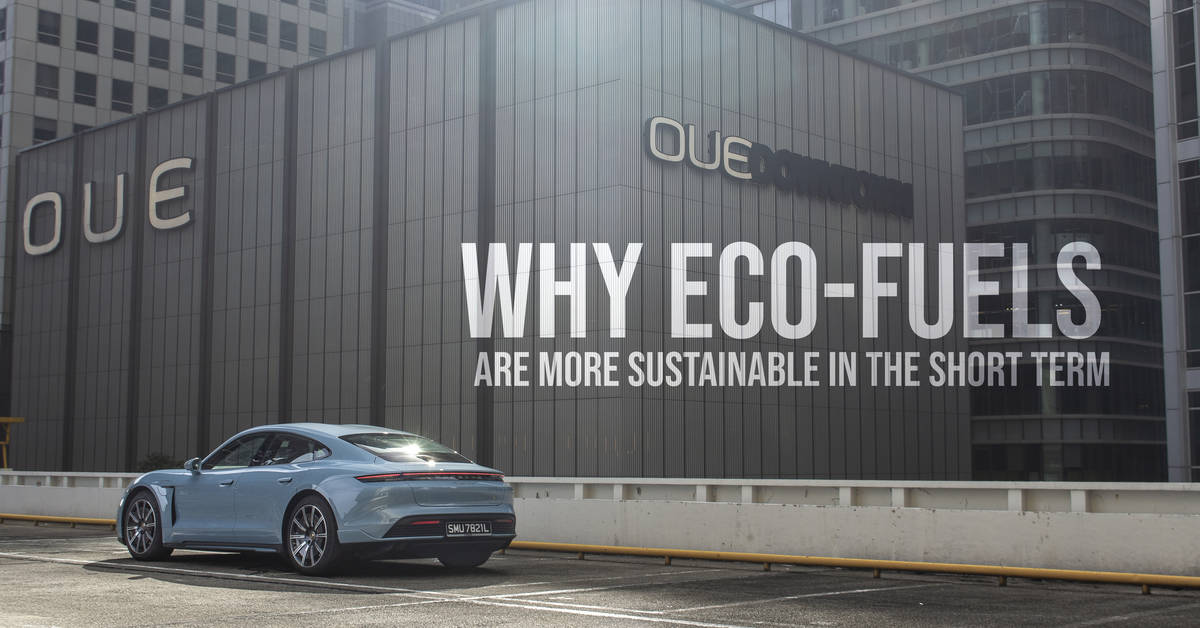 Why Eco-Fuels Are More Sustainable In The Short Term