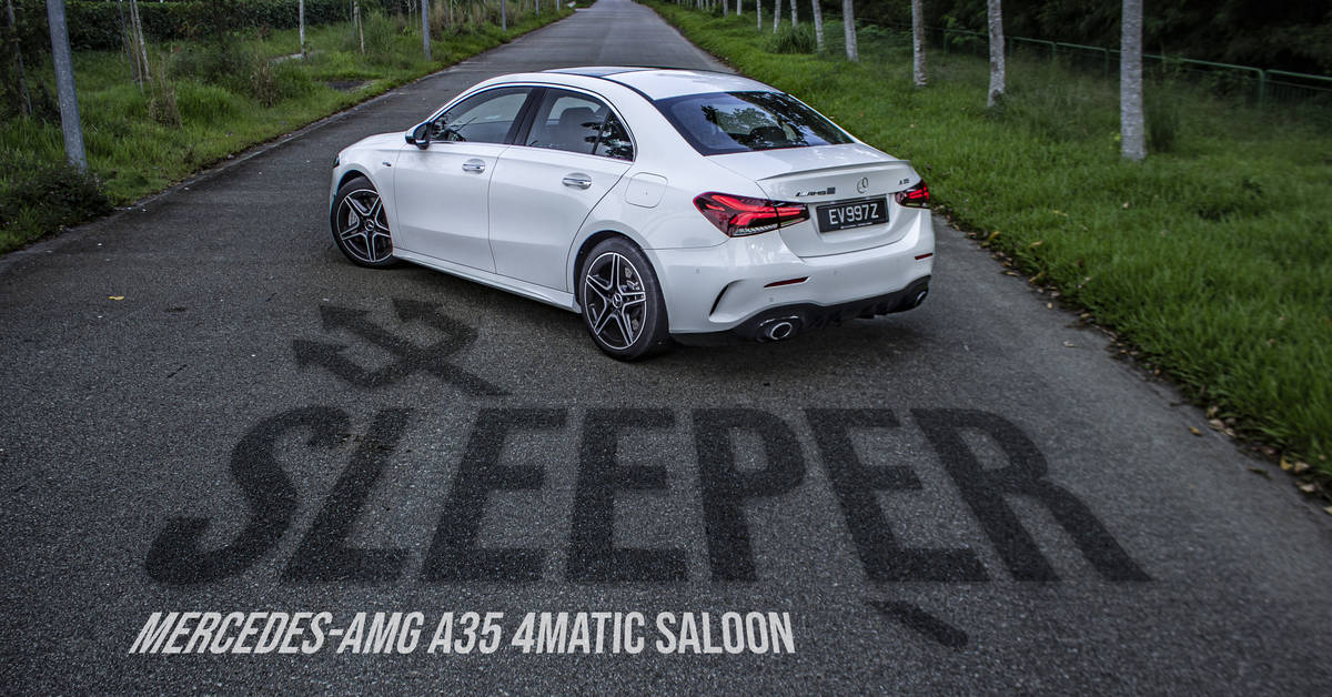 Mercedes-AMG A35 4Matic Saloon 2020