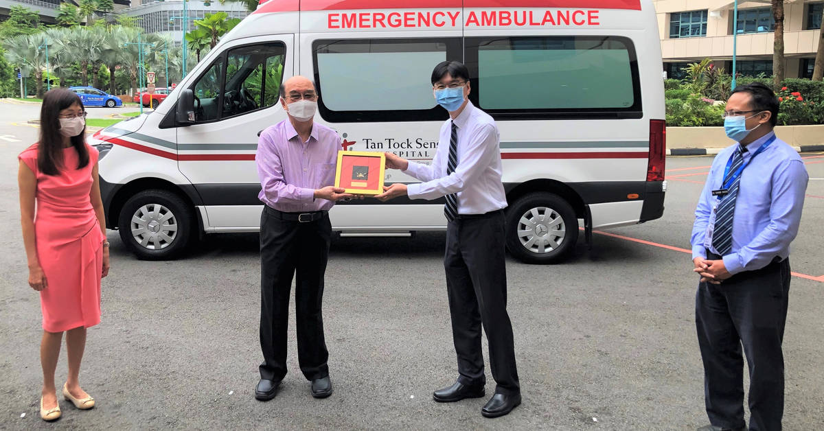 Eurokars Group Donates Ambulance to Tan Tock Seng Hospital ...