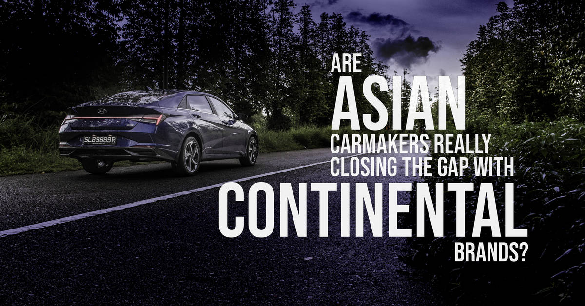 Are Asian Carmakers Really Closing The Gap With Continental ...