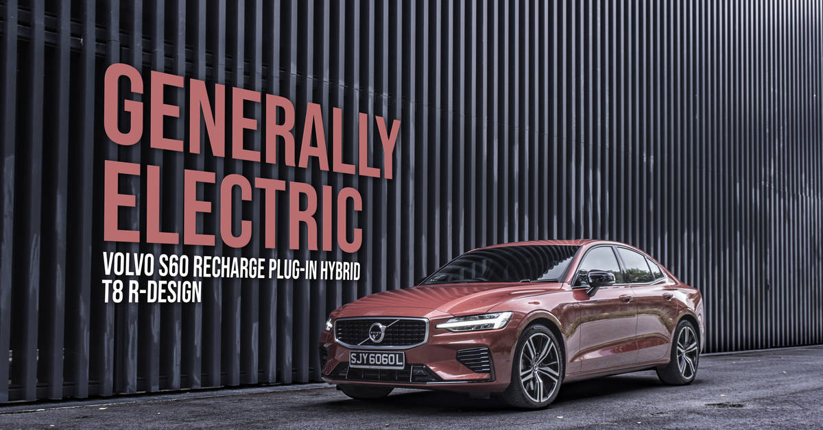 Volvo S60 Recharge Plug-In Hybrid T8 R-Design