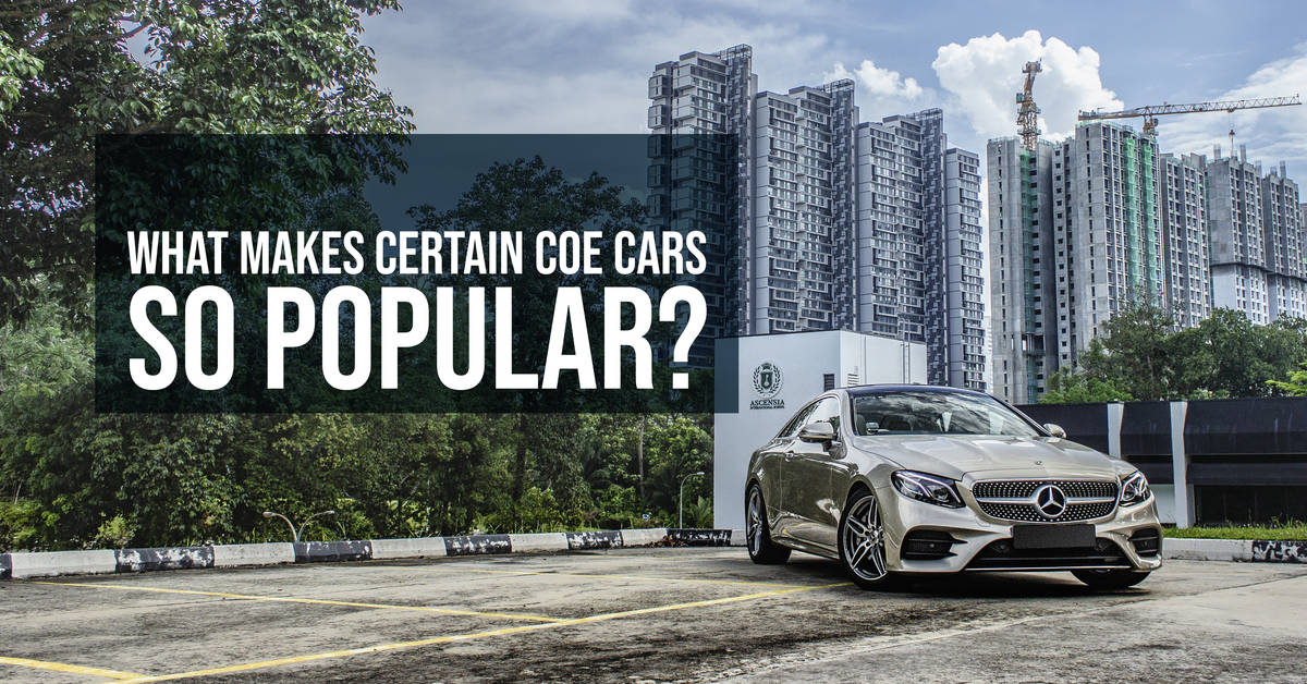 What Makes Certain COE Cars So Popular?