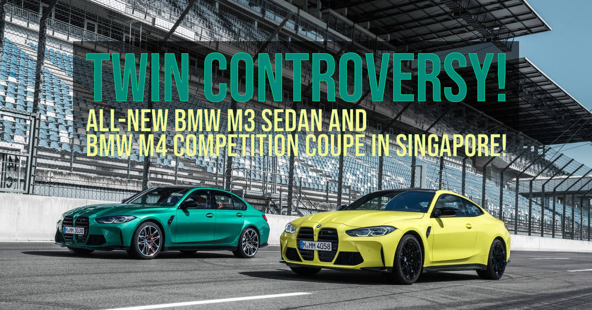 Twin Controversy! All-New BMW M3 Sedan and BMW M4 ...
