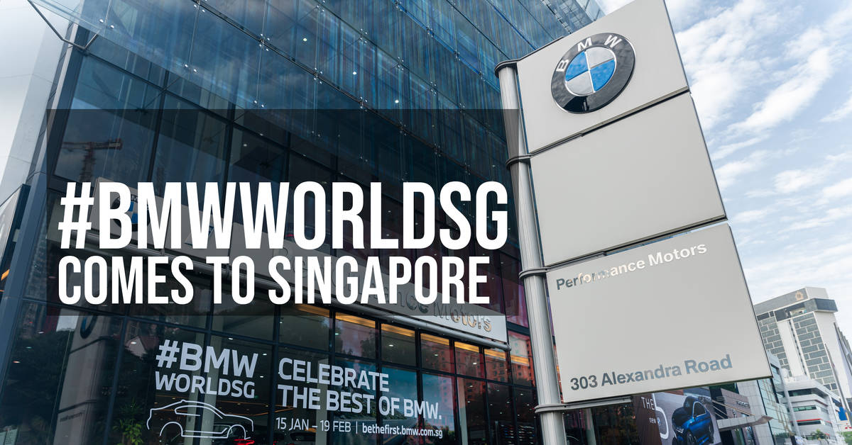 #BMWWorldSG Comes to Singapore