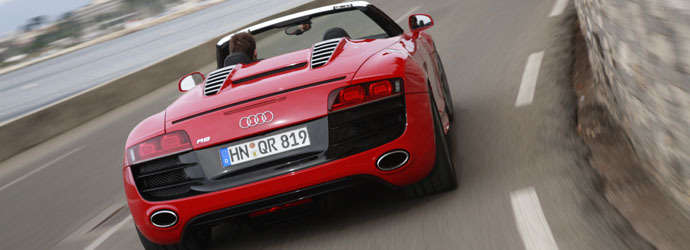 Preview test: Audi R8 Spyder 5.2 FSI quattro Review