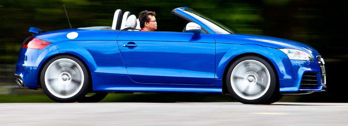 Audi TT RS Roadster (M) Review