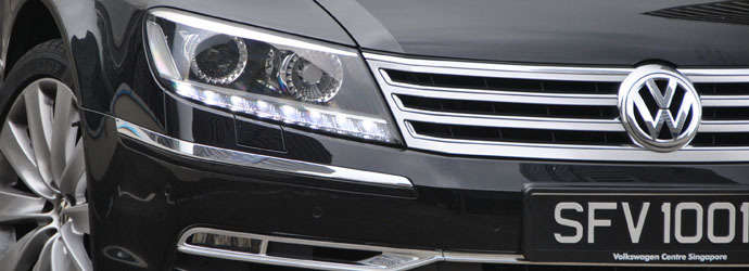 Volkswagen Phaeton 4.2 V8 LWB Review Singapore - Oneshift.com