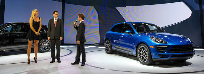 L.A. Motorshow: Launch of the Porsche Macan