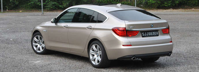 BMW 5 Series 535i Gran Turismo Luxury Review Singapore  Oneshiftcom
