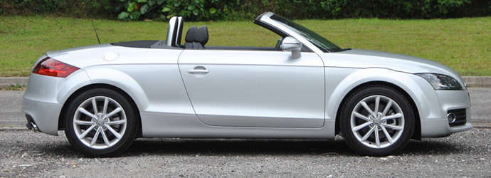 Audi TT Roadster 2.0 TFSI (A) Review