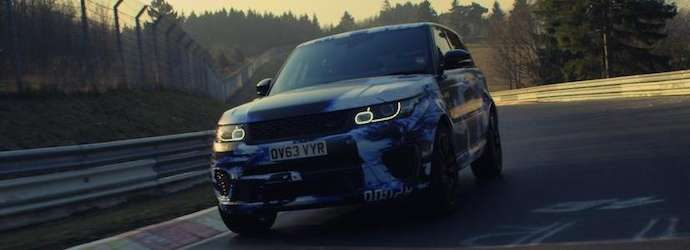 Range Rover Sport SVR As The Fastest Production SUV Around ...