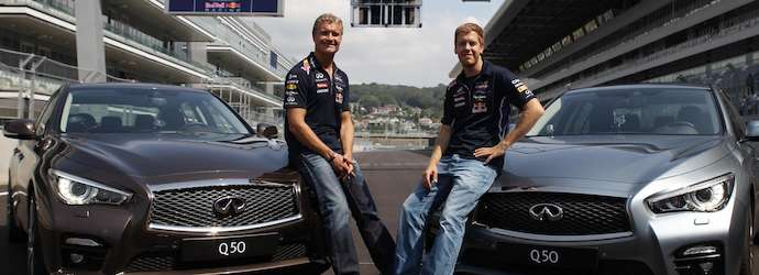 Sebastian Vettel becomes first F1 driver to sample the ...