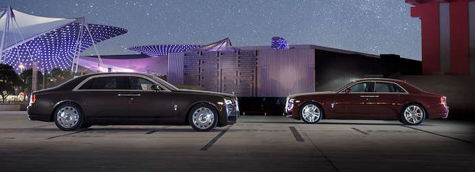 Rolls-Royce Motor Cars Unveils Ghost Series II To China At ...