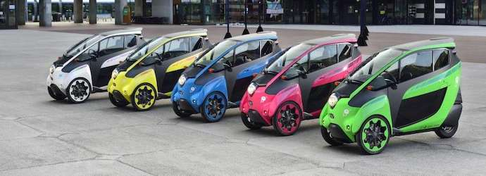 Toyota's i-Road ready to run in French urban mobility ...
