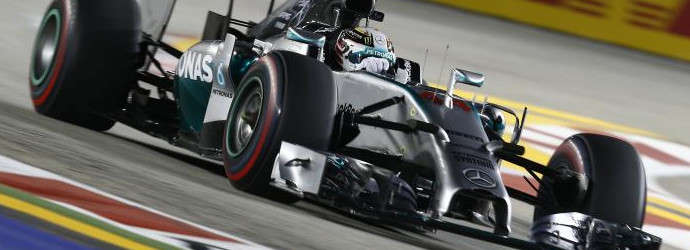 F1: Hamilton dominates as title rival breaks down