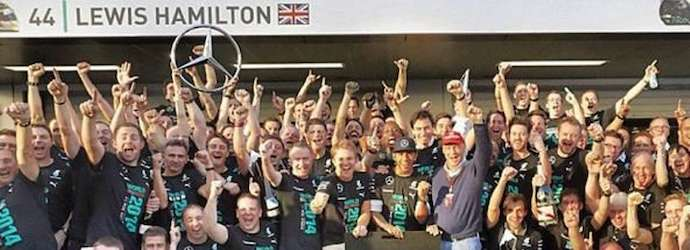 Lewis Hamilton swept to his victory in the Russian Grand ...
