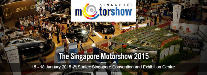 Singapore Motor Show 2015 - Deals and Promotions