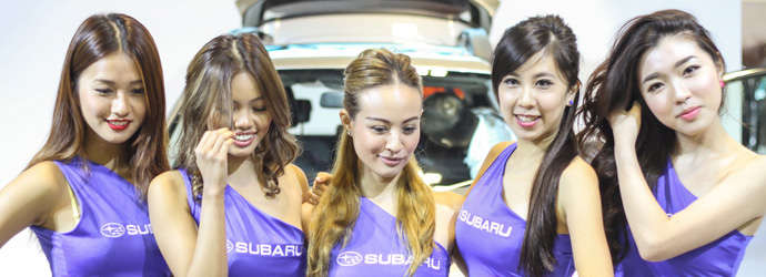 Girls of Singapore Motorshow 2015