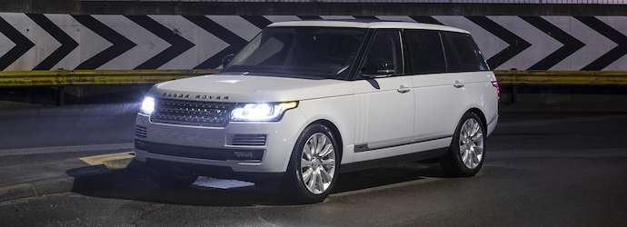 Six millionth production Land Rover is a luxurious Range ...