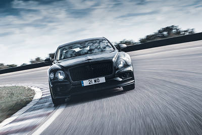 The All-New Flying Spur: The Dynamic Grand Touring Sedan