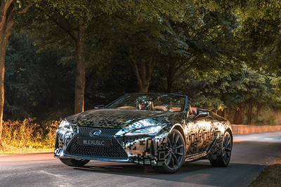 Lexus LC Convertible Prototype Unveiled At Goodwood Festival Of Speed 2019