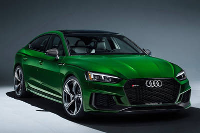 Excellent Design And Optimum Performance: The New Audi RS 5 Sportback
