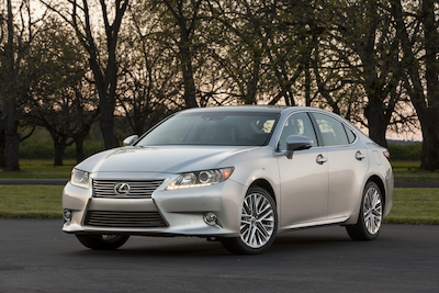 USA: Toyota to Build Lexus ES 350 at Its Georgetown, Kentucky Plant