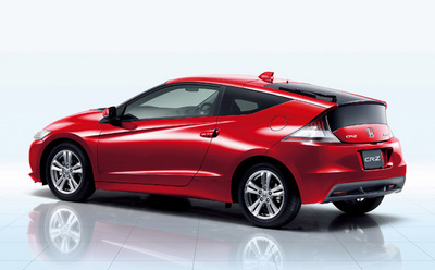 Honda CR-Z Now On Sale in Japan