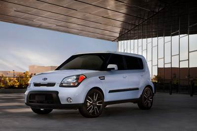 First Look: Kia Soul Ghost Edition