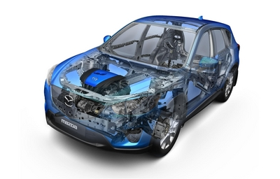 Mazda SKYACTIV Technology Wins Award