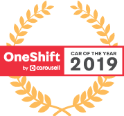 Car of the Year 2019 Crest