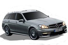 Mercedes-Benz C-Class C63 AMG Estate (A)