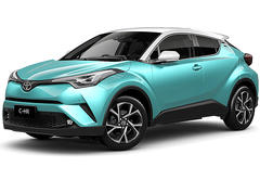 Toyota C-HR 1.2 Turbo Luxury (Mono Tone) (A)