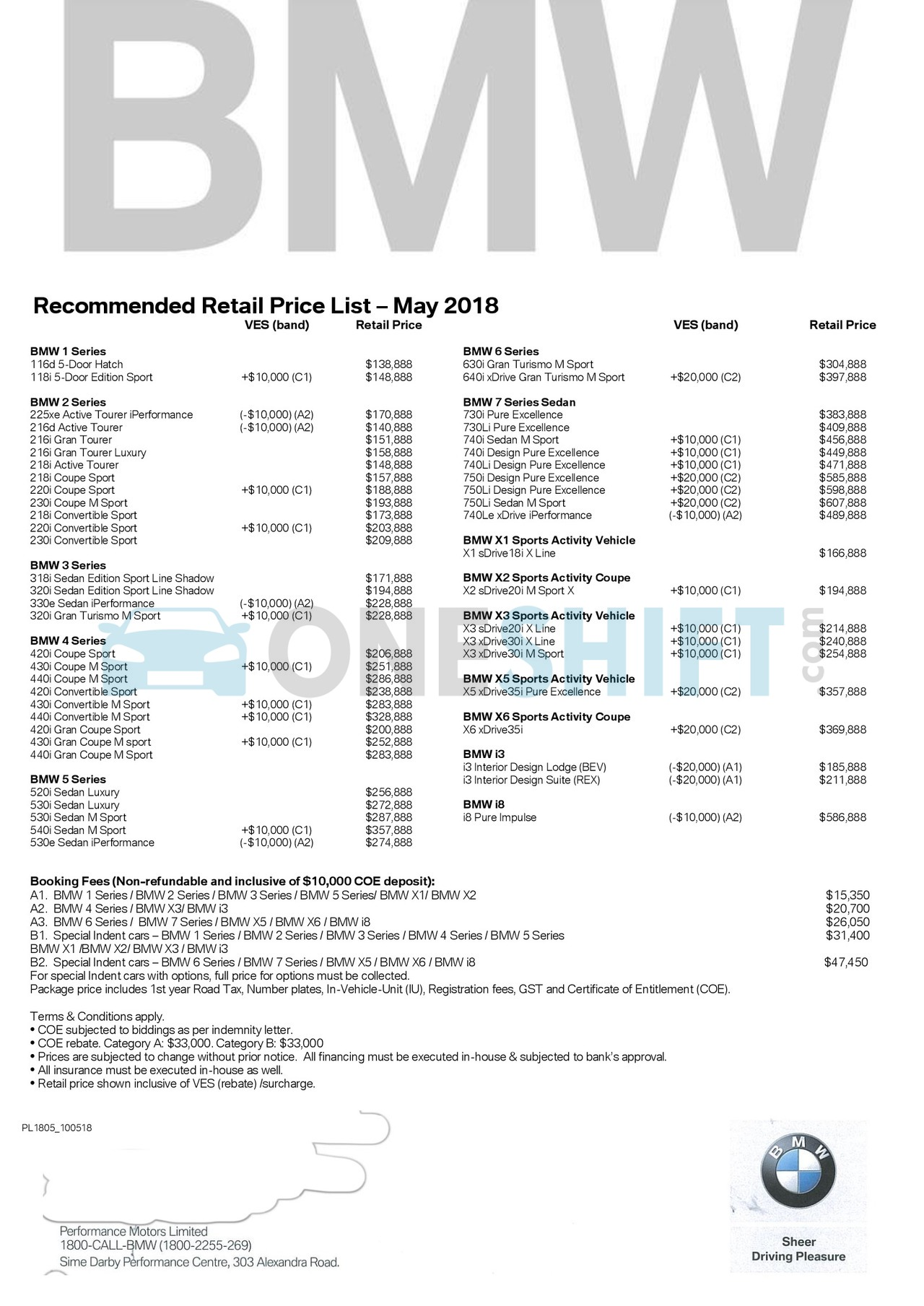 models price new prices list of cost bmw