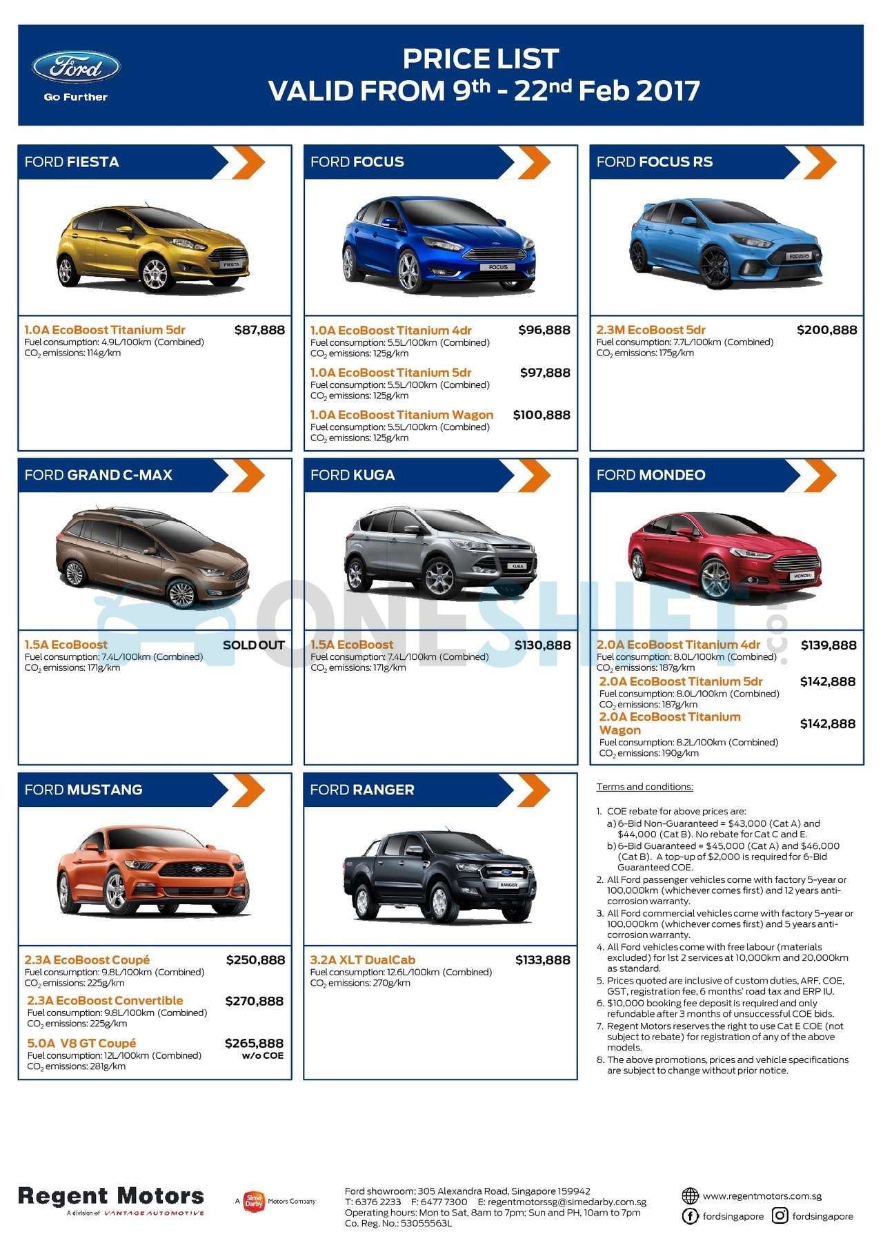 ford Price List 2-9-2017 Page 1
