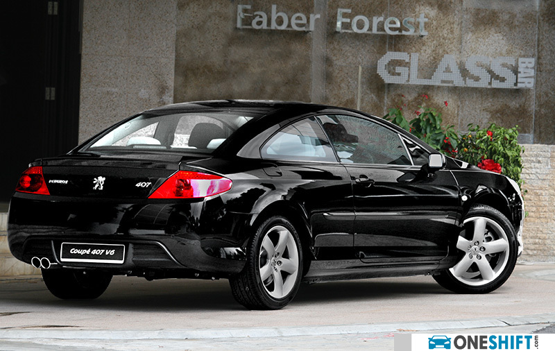 peugeot 407 coupe v6 3 0 se a 2007 photo images gallery road test review singapore. Black Bedroom Furniture Sets. Home Design Ideas