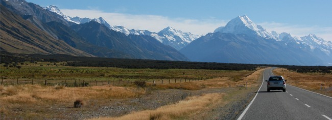 The majestic Mt. Cook