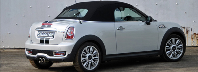 Mini Cooper S Roadster Review Singapore Oneshiftcom