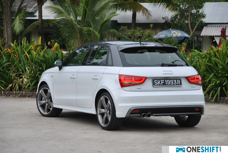 audi a1 sportback 1 4 tfsi s tronic 185 bhp s line a. Black Bedroom Furniture Sets. Home Design Ideas