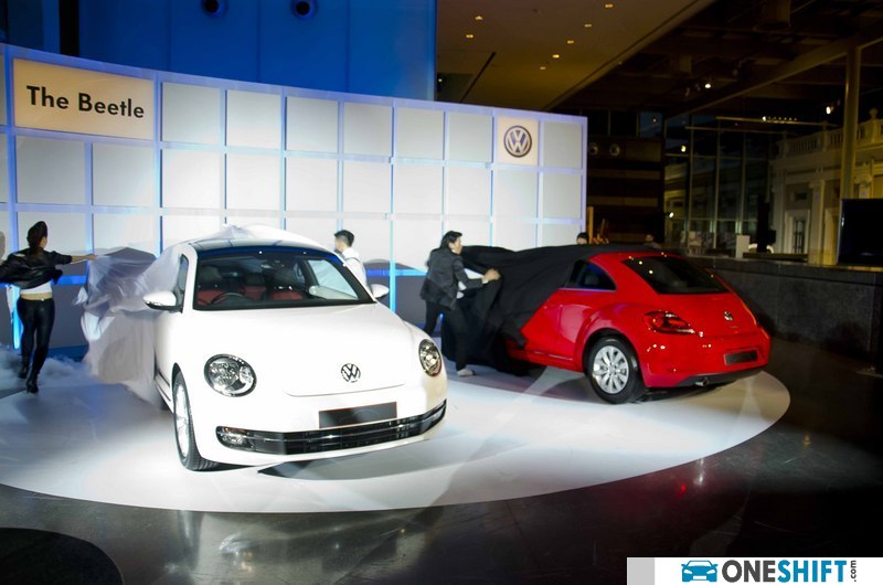 new car release singaporeVolkswagen launches The Beetle  Singapore Features  Oneshiftcom