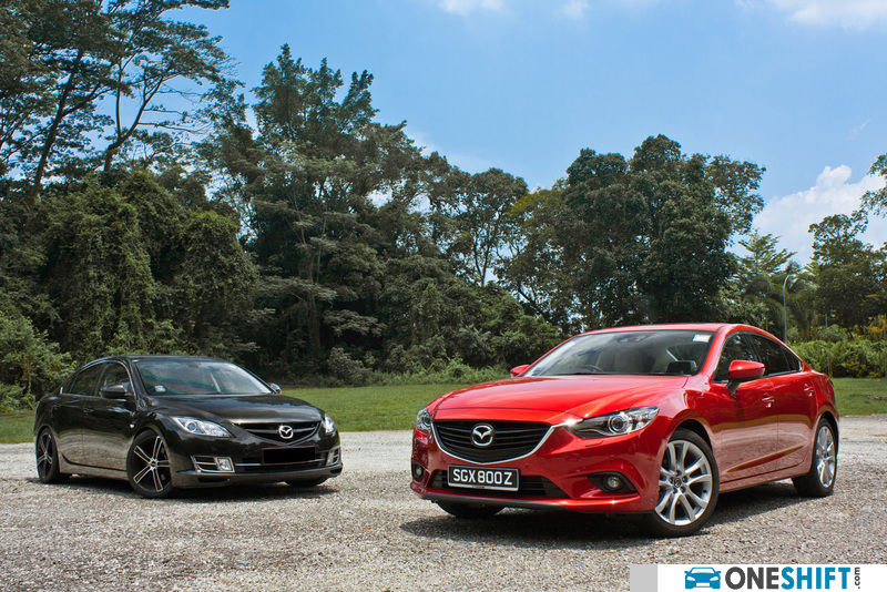 Mazda 6 SKYACTIV-G 2 5 (A) 2013 Photo Images Gallery - Road