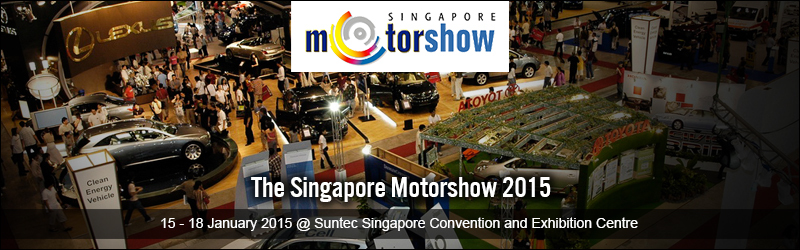 The Singapore Motorshow 2015